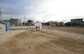 三養基町中原町で工事が始まります。