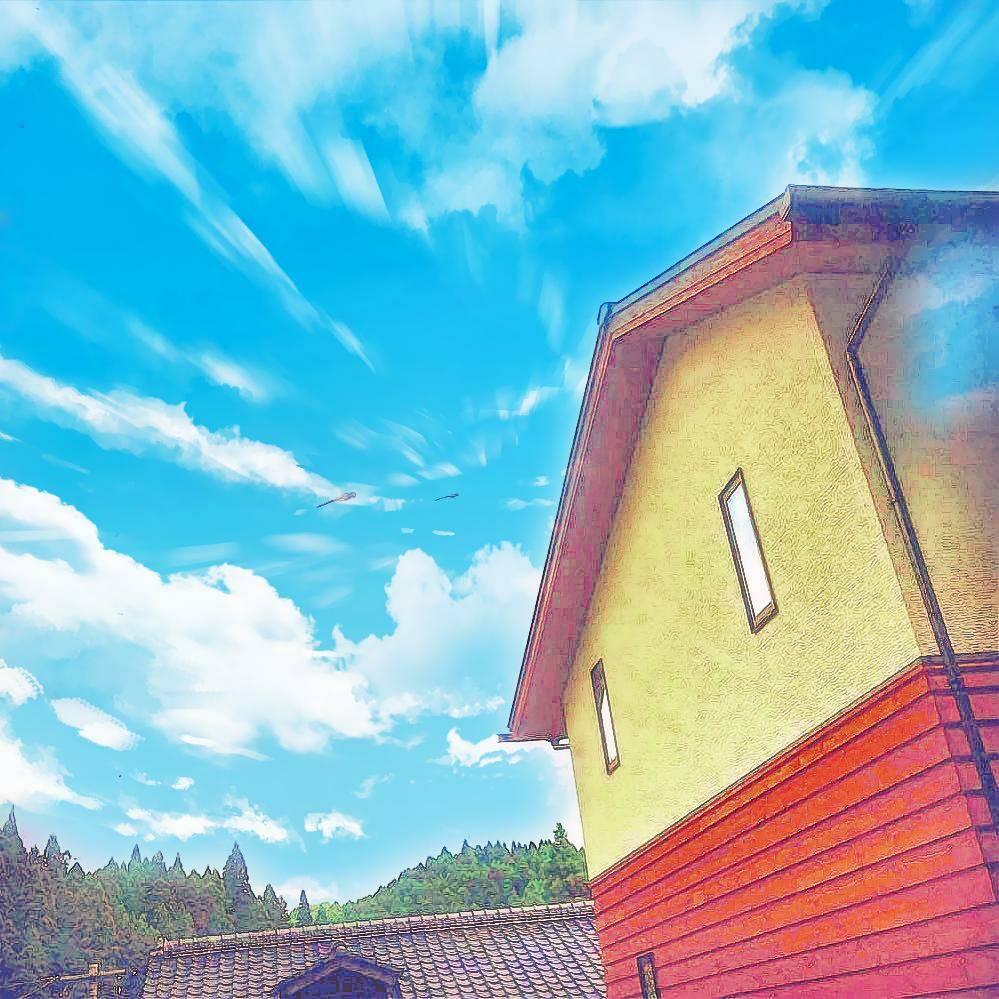8月26(土)・27(日)大自然に囲まれた家の完成おひろめ会です。