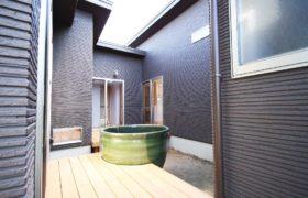 手軽にリゾート気分。自宅に露天風呂のある家