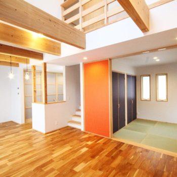 片付く収納とそれぞれの心地よい空間